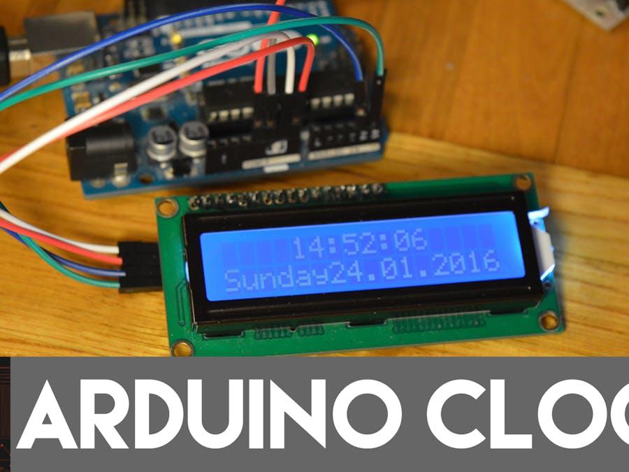 Arduino Clock - Arduino Project Hub