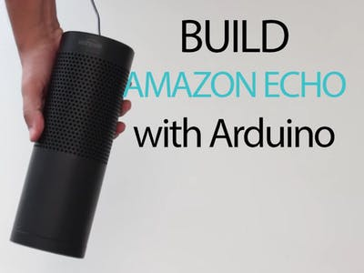 Arduino Based Amazon Echo Using 1Sheeld