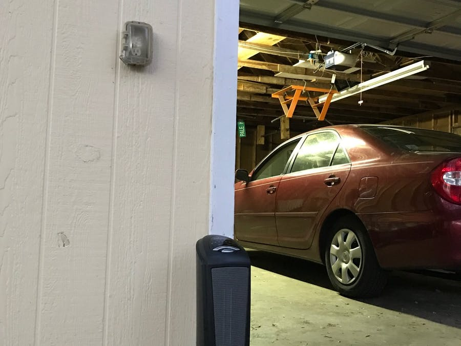 Garage Heater And Opener
