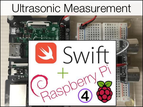 HC-SR04 Ultrasonic Measurement with Swift