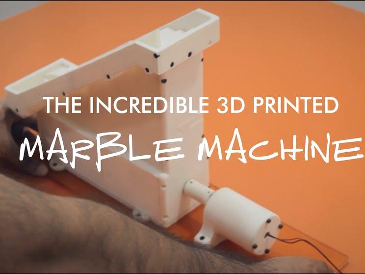 The 3D Printed Marble Machine - Printed on Indie 3D Printer