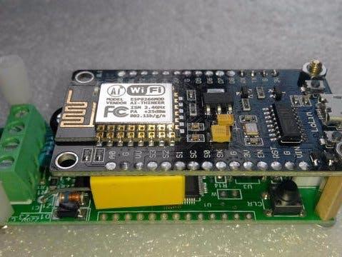 Wireless Peacefair PZEM-004T Energy Monitor