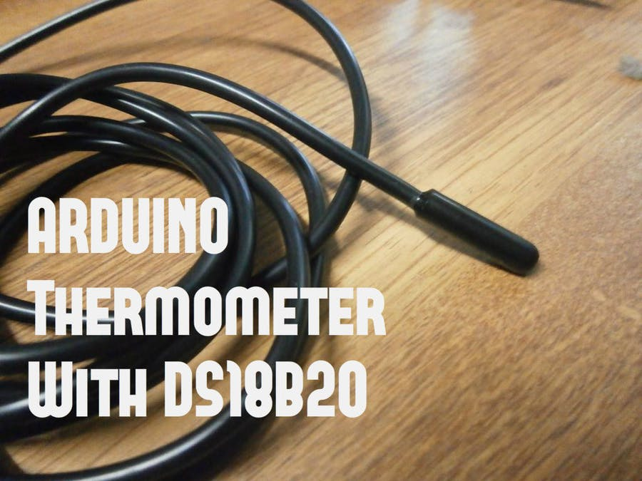 DS18B20 (Digital Temperature Sensor) and Arduino - Arduino