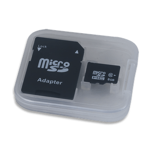 MicroSD Card with Adapter
