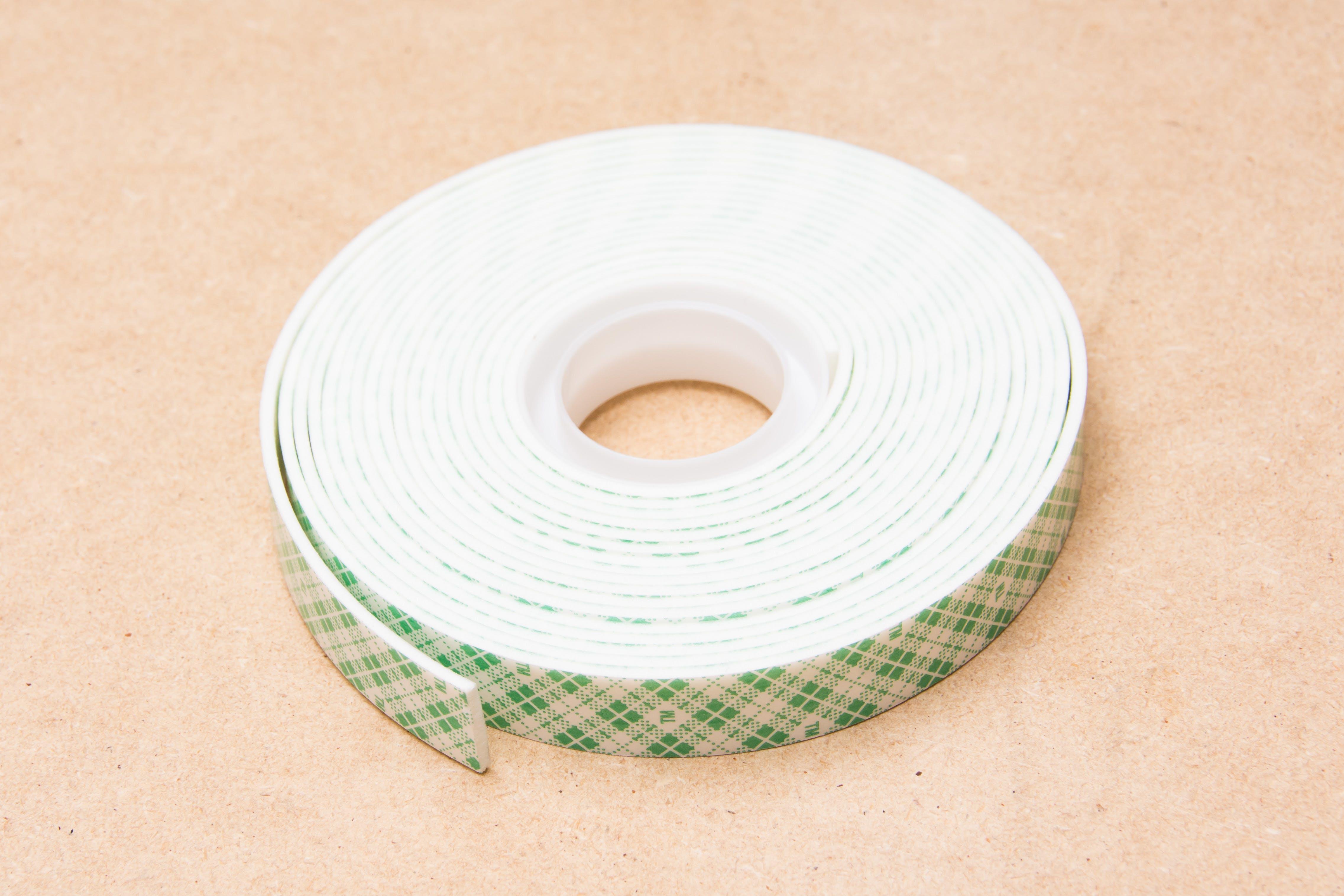 Foam double-sided tape works well.