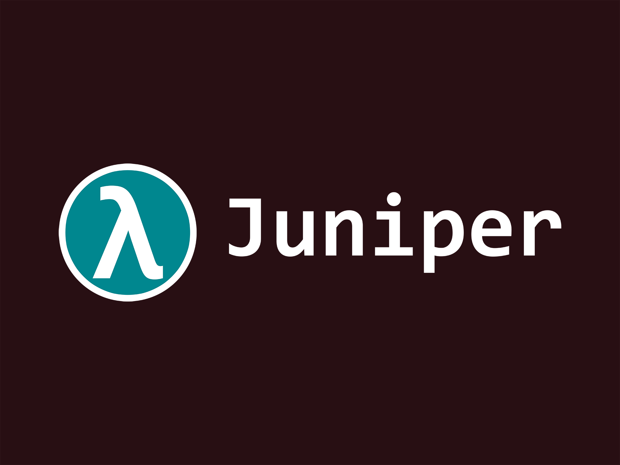 Juniper: A Functional Reactive Programming Language