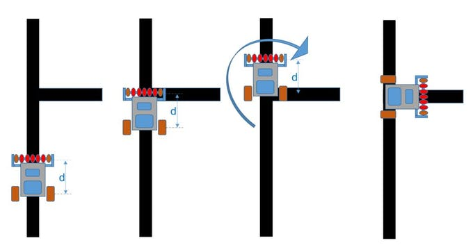 Maze solver robot using artificial intelligence hackster