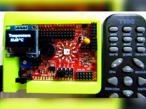IR Remote control idiotware shield