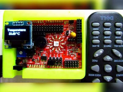 IR Remote control idiotware shield