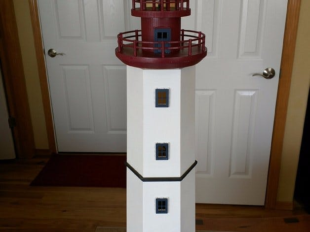 Lighthouse 3D Print and Arduino
