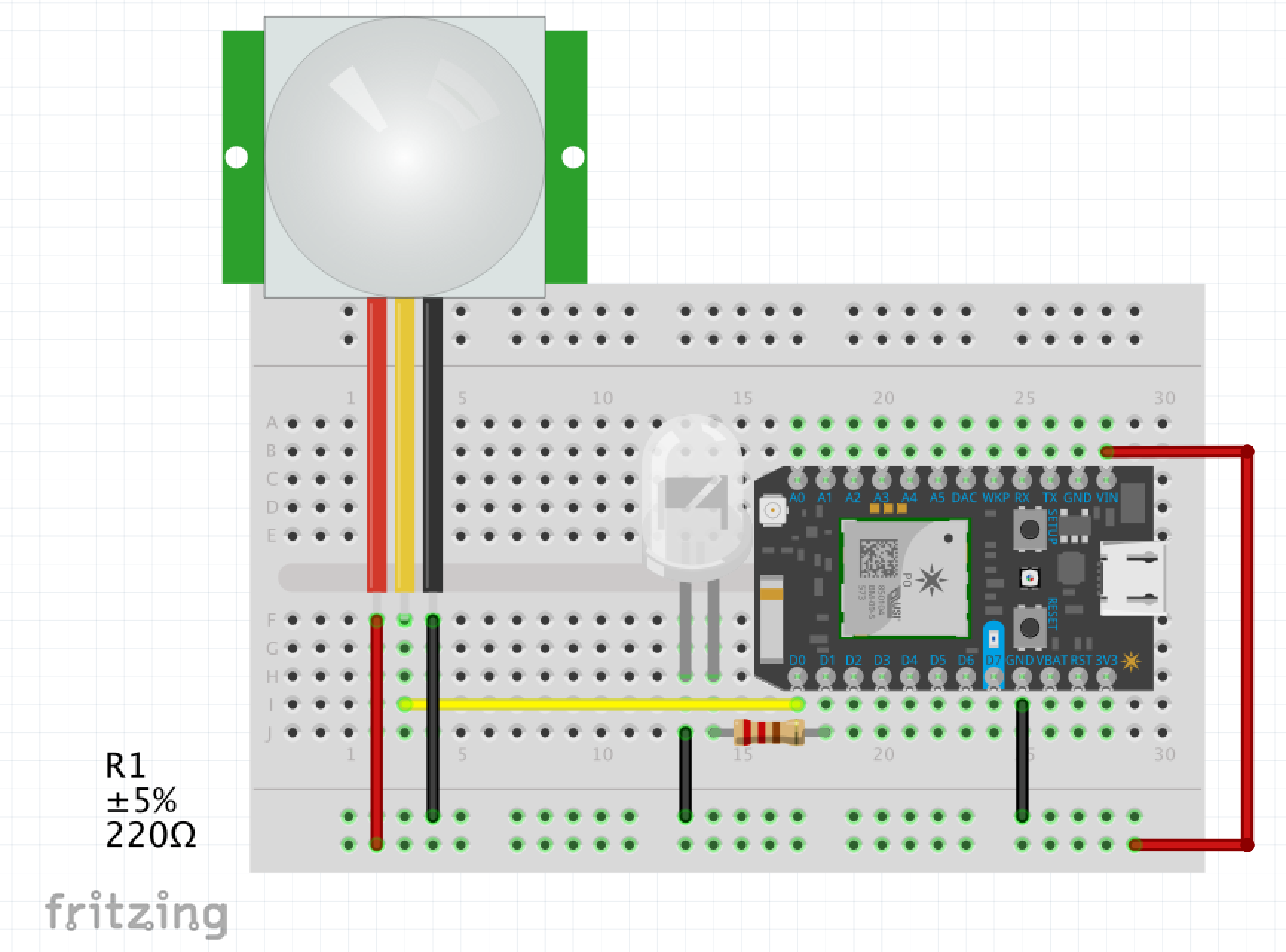 Particle Photon Pir Sensor And Event Reporting Motion Circuit Diagram Also Wiring Image Of The 0vz7n0ysyewfkcvkozej