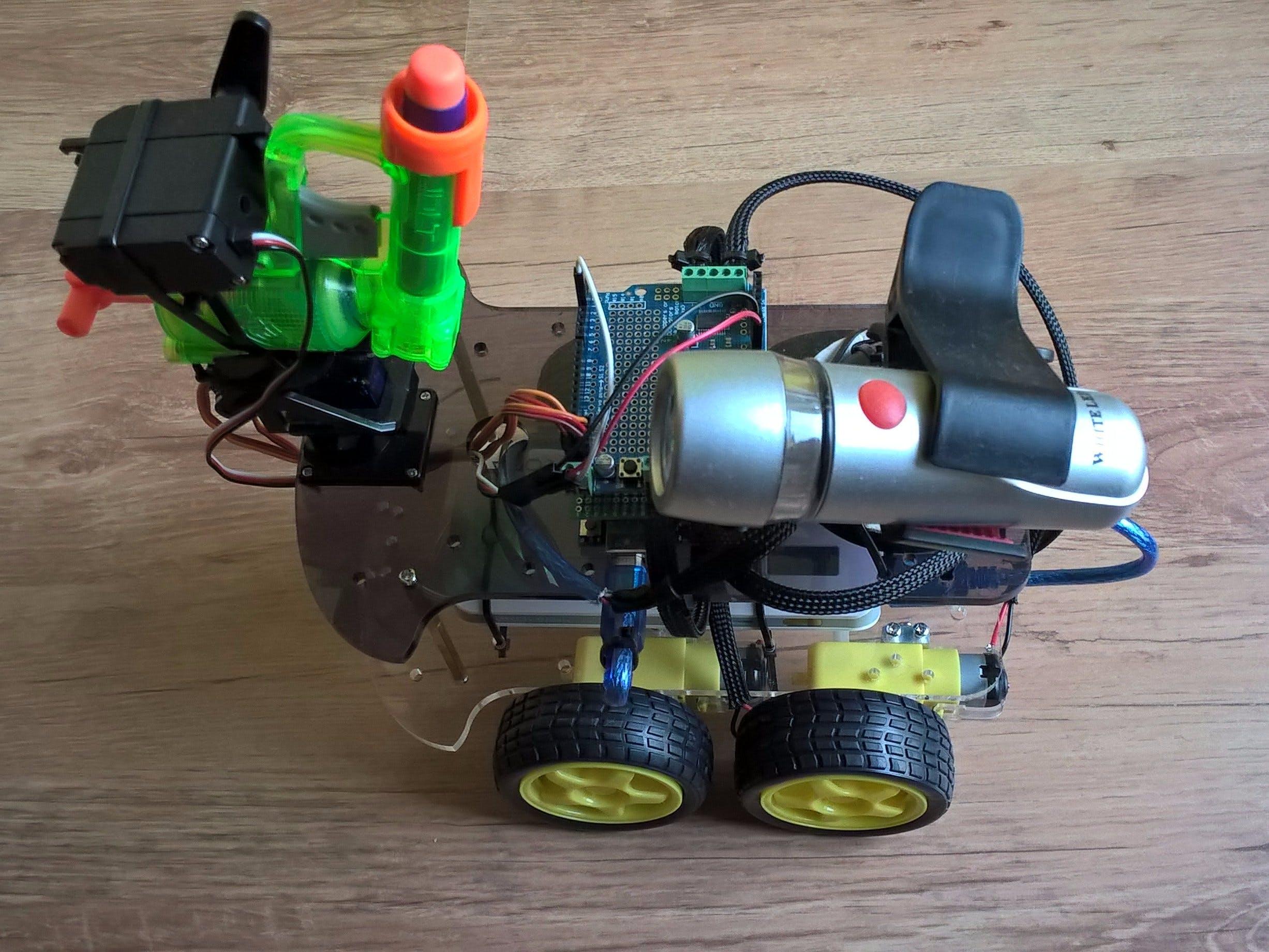 Arduino Node Tank