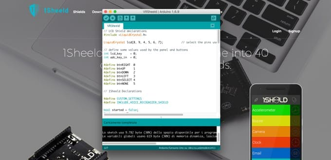 Upload the sketch to your Arduino