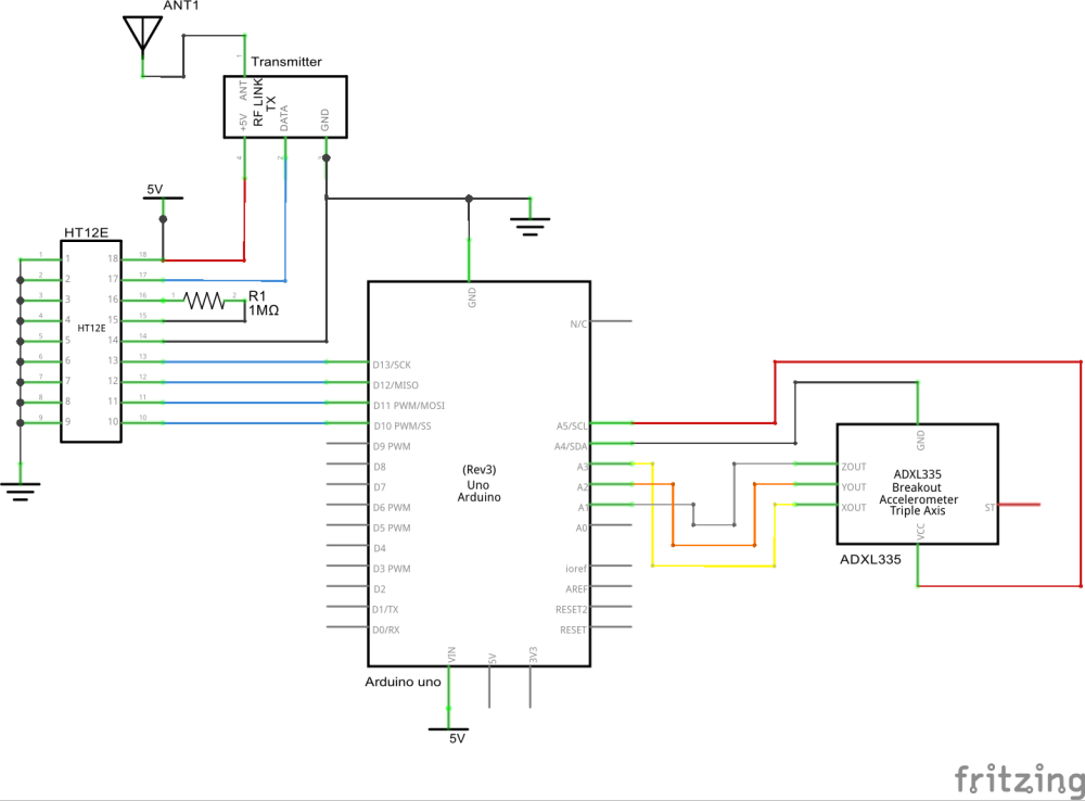 tx circuit_schem?auto=compress%2Cformat&w=1280&h=960&fit=max hand gesture controlled robot hackster io