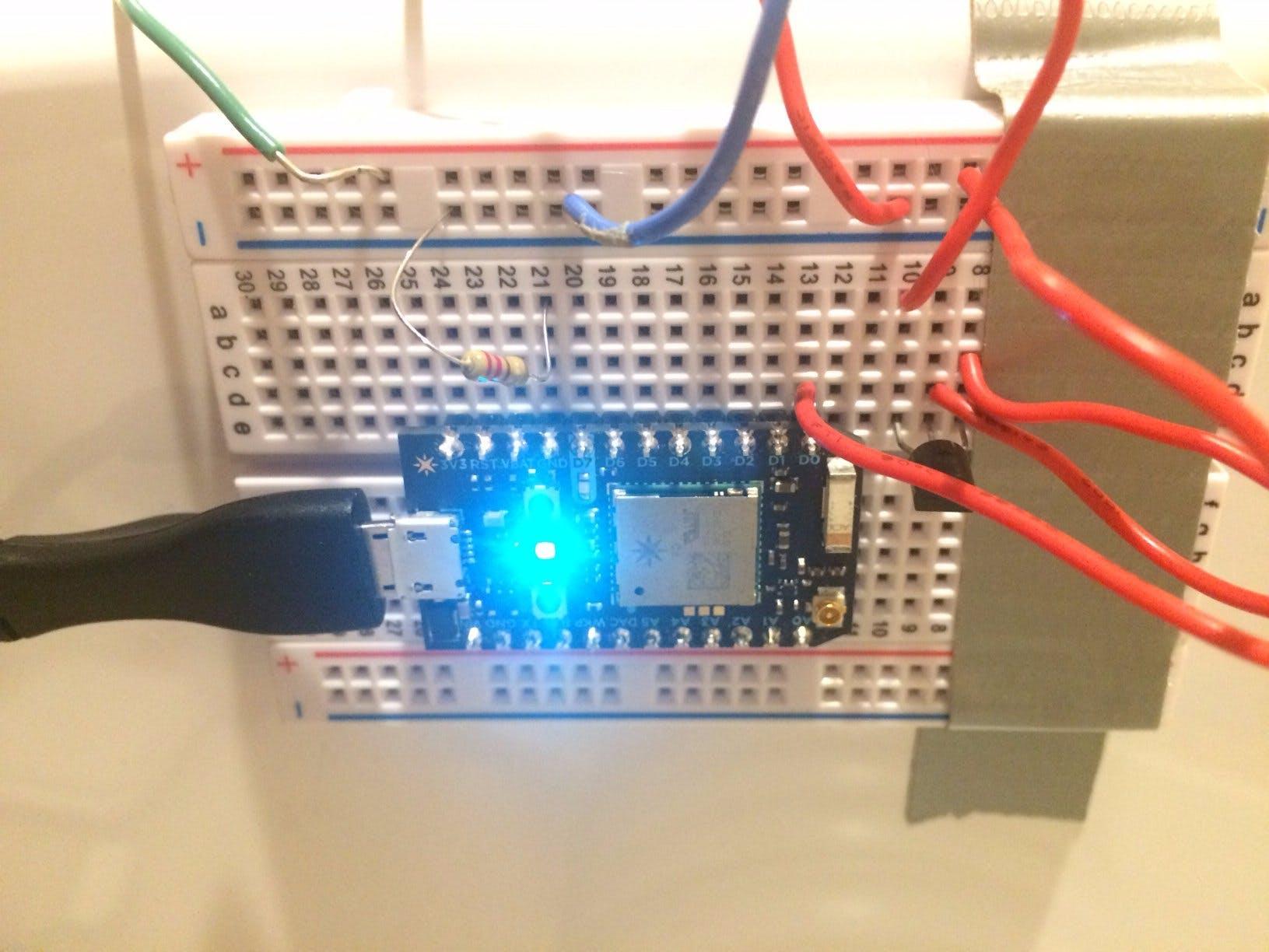 AC Unit Temperature Switch - 3171 Project