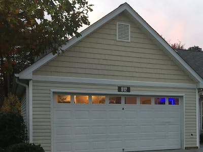Enhanced Garage Door