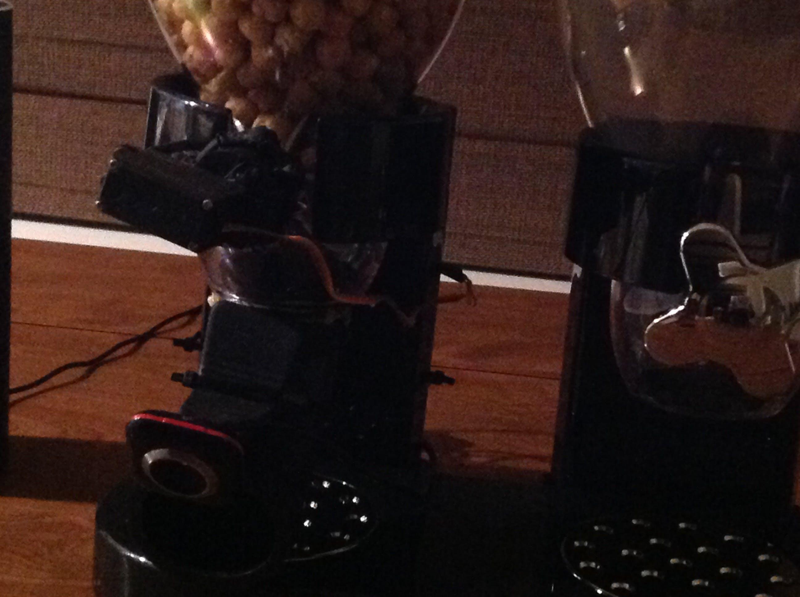Close-up of Servo and Camera