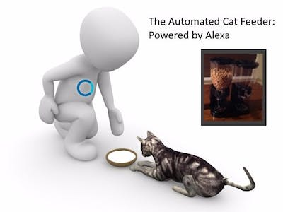 Alexa Powered Automated Cat Feeder