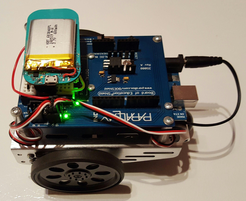 BoE-Shield Robot (fully powered)