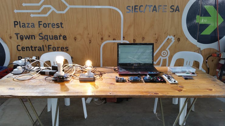 Adealaide Maker Faire display