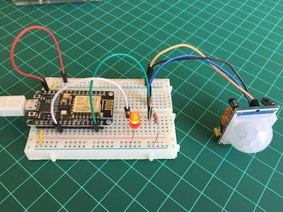 IoT Motion Detector With NodeMCU and BLYNK