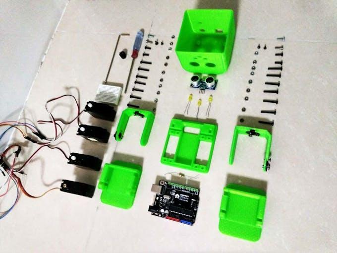 Tito arduino uno d printed robot hackster
