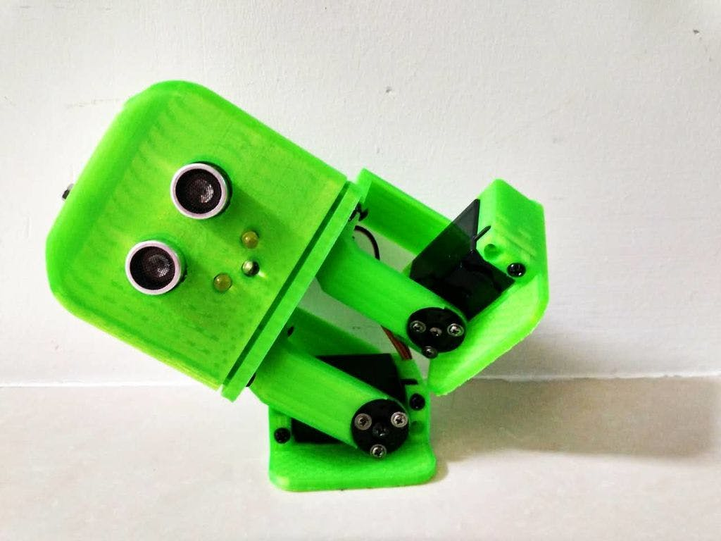 Tito - Arduino UNO 3D-printed robot
