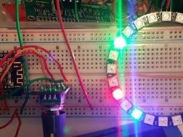 ESP8266 Neopixel Ring Clock - Hackster io