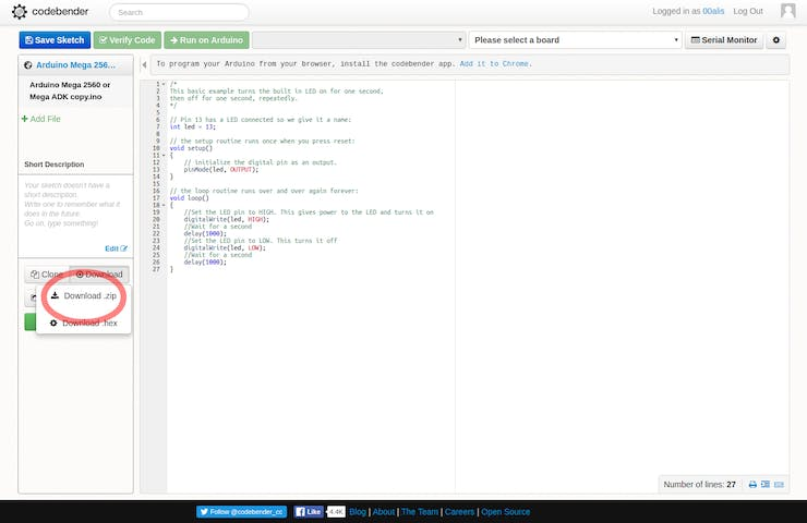Move from Codebender to the Arduino Web Editor - Hackster io