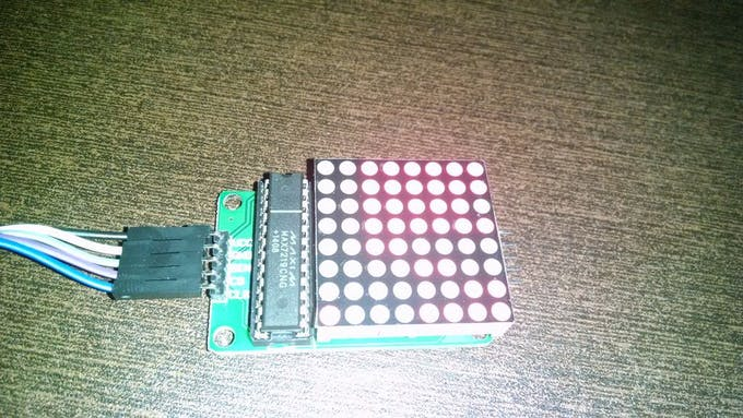 LED Matrix Module without template