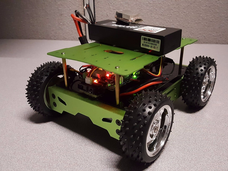 Arduino101 BLE Autonomous Rover