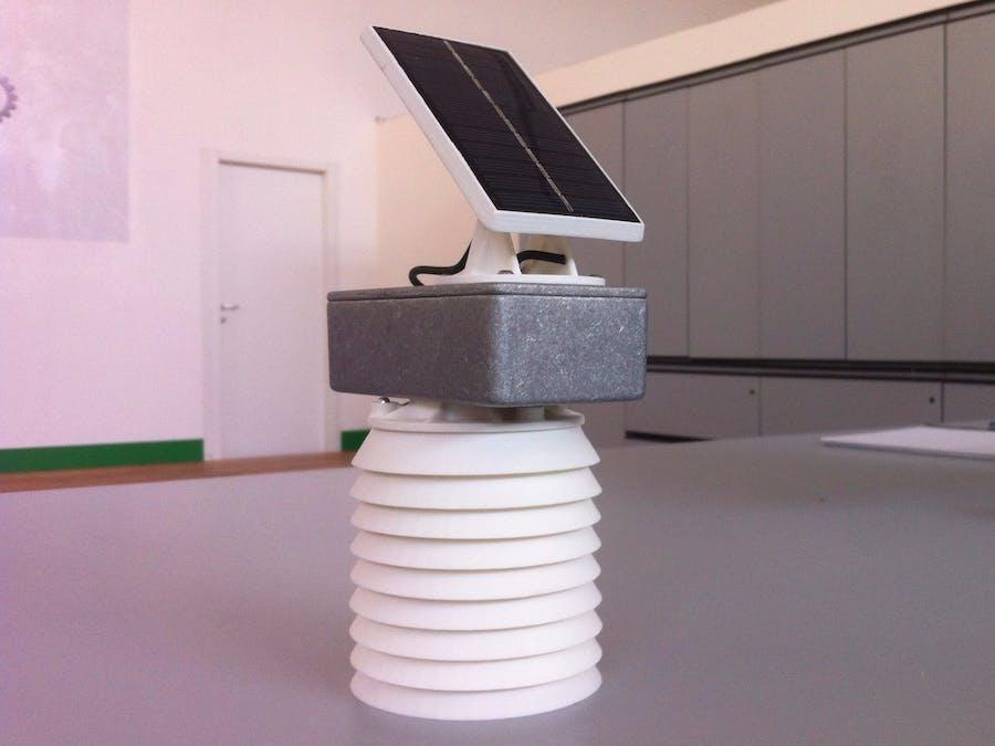 eNVIRO sense: wireless temperature & humidity sensor