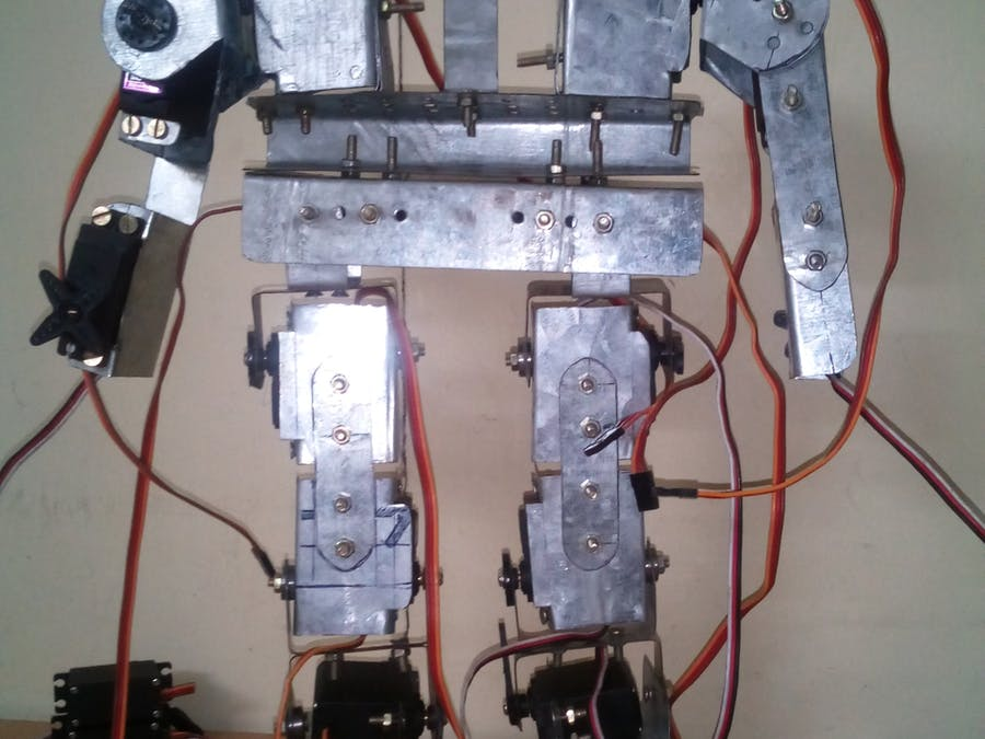 how to create a humanoid robot