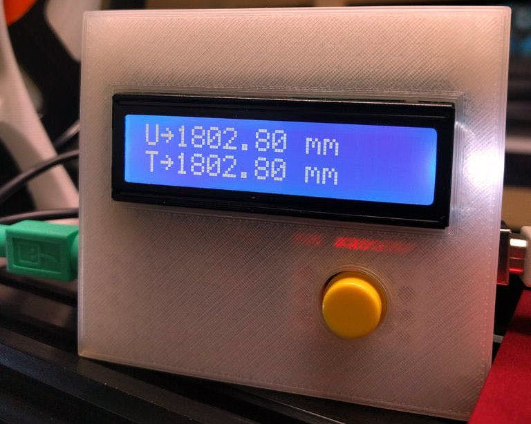 Digital 3D Printer Filament Counter Using PS/2 Mouse