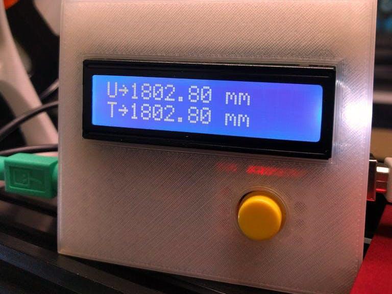 Digital 3D Printer Filament Counter Using PS/2 Mouse