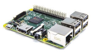 generic picture of Raspberry Pi B+