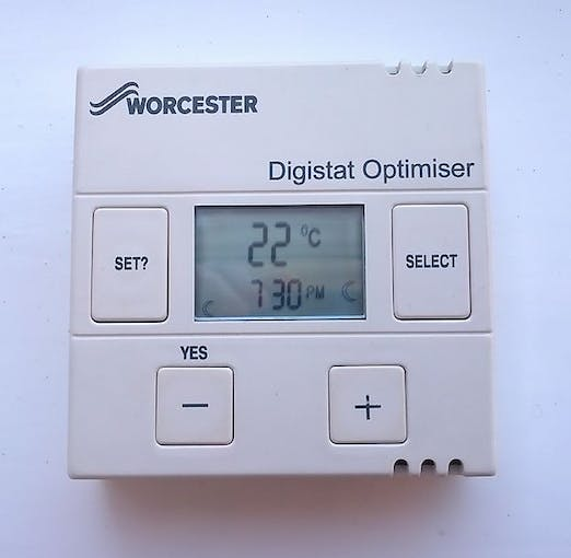 Worcester Wireless Programmable Room Stat Change Frequency