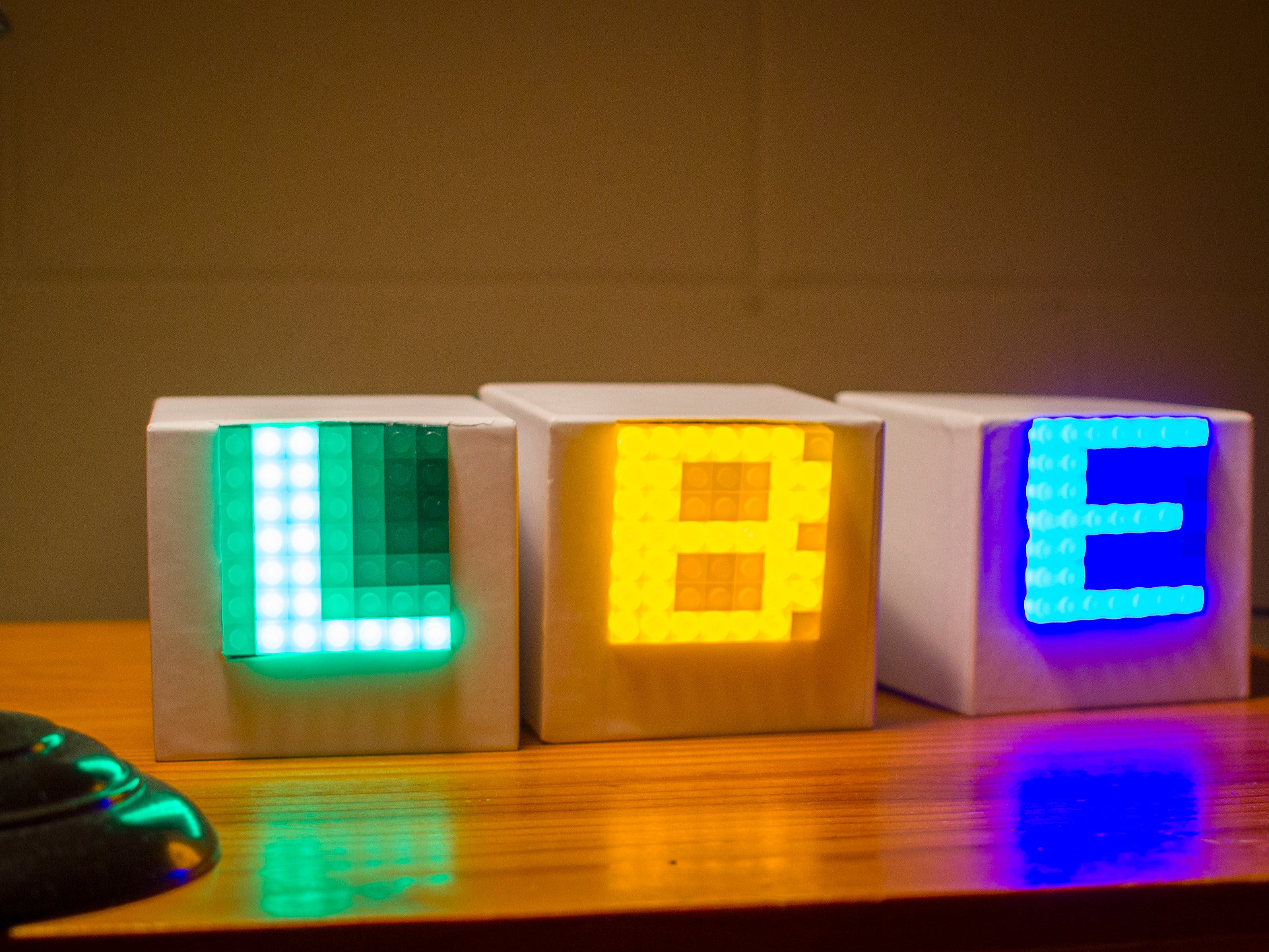 Lego Compatible Name Display