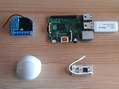 Home Control with a Raspberry Pi and Z-Wave