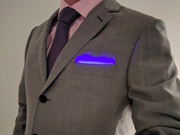 LED Pocket Square