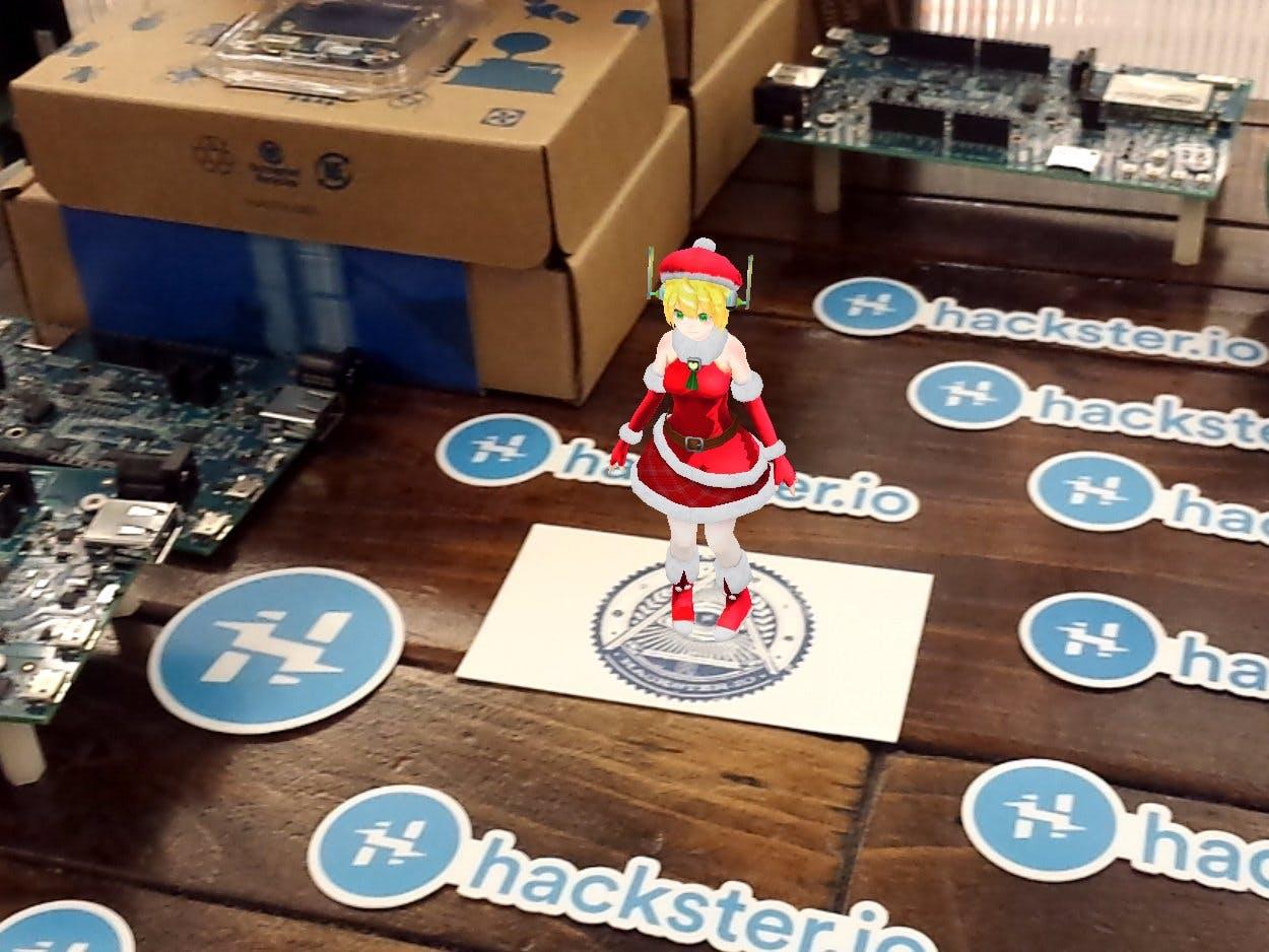 Hackster Illuminati Christmas