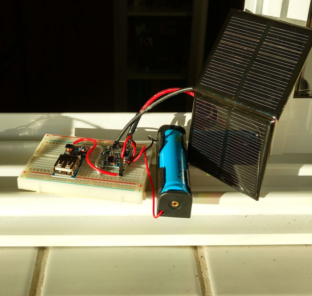 Solar Charged Battery Powered Arduino Uno Operated Usb Charger Circuit Diagram