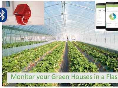 Greenhouse Plant Monitoring
