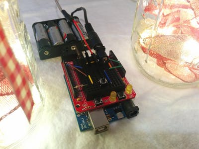 Programmable Christmas Mason Jar Lights