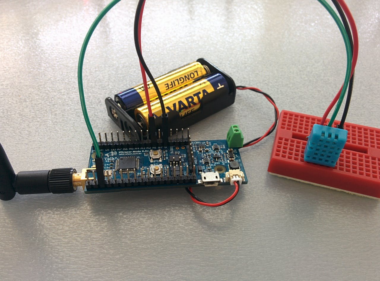 Temp And Humidity Sensor With A Cr2032 For Over 1 Year Circuit Receiver Board 433mhz Kl320 View High Stability Rf