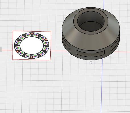 3D Model Designed in Fusion 360