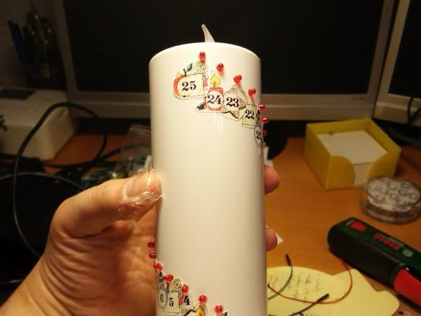 Arduino Advent Candle