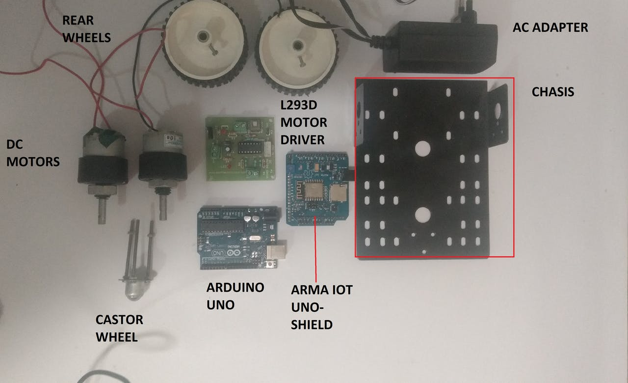 Wifi Controlled Robot Using Arduino Uno And Blynk Telephone Motor Page 7 Free Microcontroller Projects