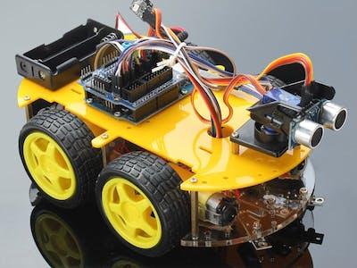 Arduino Robot - Service Oriented Architecture