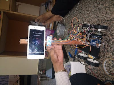 IoT control Android smart car